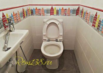 Плитка туалет Иркутск№1