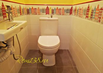 Плитка туалет Иркутск№2